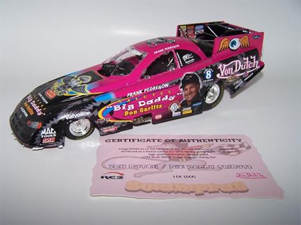 Frank Pedregon Von Dutch /Big Daddy Tribute 2006 NHRA Dodge Stratus Funny Car
