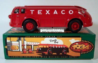 Texaco Ertl Bank  1934 Diamond T Tanker
