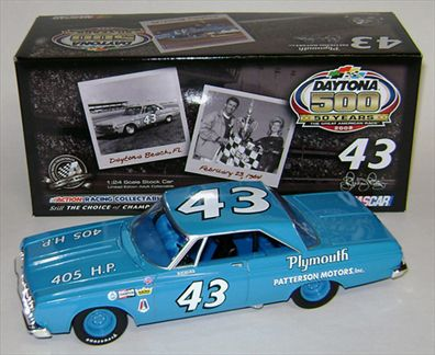 Richard Petty #43 Patterson Motors, Inc. 1964 Belvedere