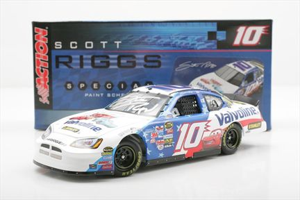 Scott Riggs #10 Valvoline / Cars 2006 Charger *AUTOGRAPHED*