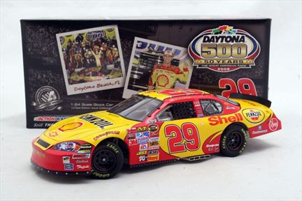 Kevin Harvick #29 Shell D500 50th 2007 Monte Carlo SS