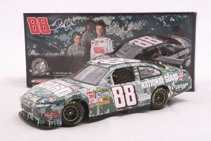 Dale Earnhardt Jr. #88 National Guard Digital Camo 2008 Impala SS