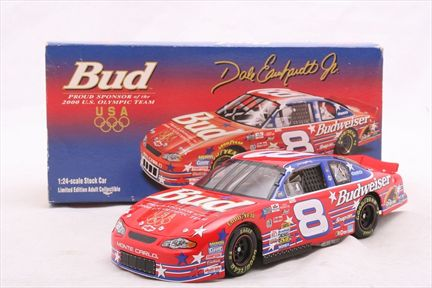 Dale Earnhardt Jr. #8 Budweiser / U.S. Olympic Team 2000 Monte Carlo Bank
