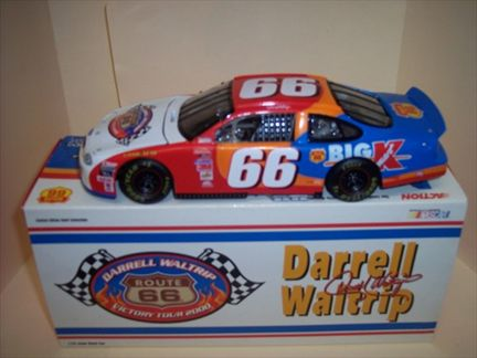 Darrell Waltrip #66 Route 66 Tour 2000 1999 Taurus