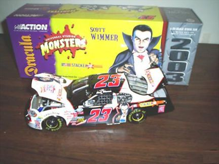 Scott Wimmer #23 Stacker 2 / Monsters 2003 Monte Carlo