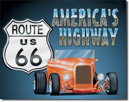 Route 66 America's Highway Roadster