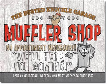 Busted Knuckle - Muffler Shop