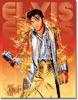 Petruccio - Elvis Gold Lame