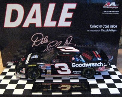 Dale The Movie Dale Earnhardt #3 Goodwrench 1994 Lumina Car 8 in a Series of 12