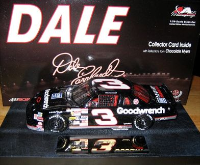 Dale The Movie Dale Earnhardt #3 Goodwrench 1990 Lumina Car 6 in a Series of 12