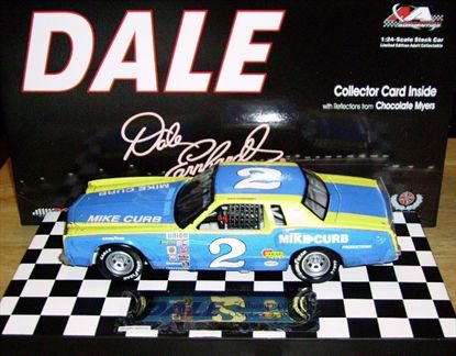 Dale The Movie Dale Earnhardt #2 Mike Curb 1980 Monte Carlo Car 1 in a Series of 12