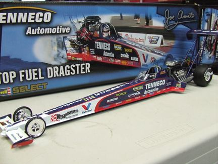 Joe Amato #3 Tenneco Automotive Top Fuel Dragster