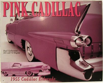 1955 Cadillac Eldorado Pink dual-carburated 331-cid V-8 Engine