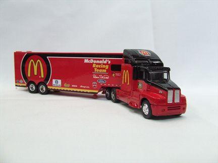 1996 edition mcdonald's racing team transporter
