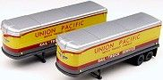 40's/50's Union Pacific RailRoad AeroVan Trailers