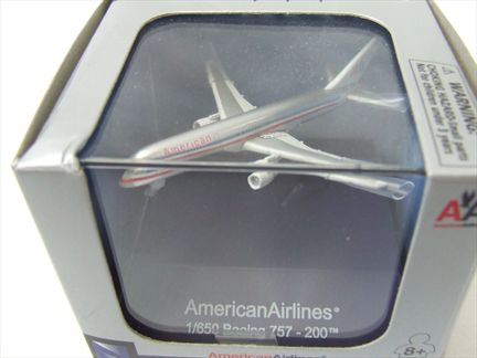 Plane: Boeing 757-200 American Airlines