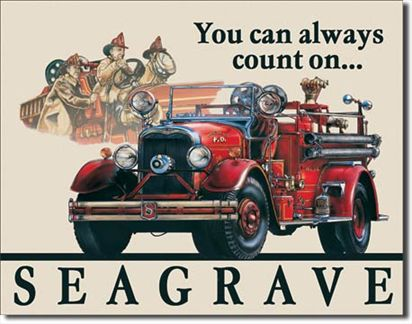 You can always count on...   SEAGRAVE