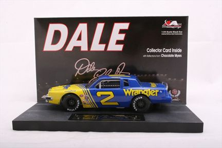 Dale The Movie Dale Earnhardt #2 Wrangler 1981 Grand Prix Car 2 in a Series of 12