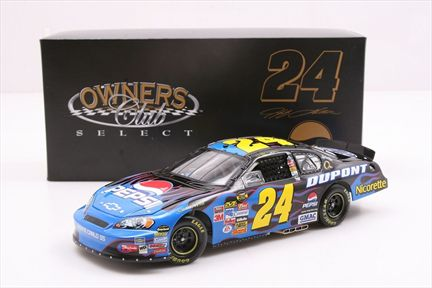 Jeff Gordon #24 Pepsi 2007 Monte Carlo SS Owners Club Select