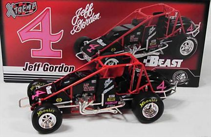 Jeff Gordon #4 USAC Sprint Silver Crown Midget Xtreme 2009