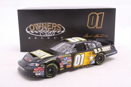 Mark Martin #01 Army 2007 Monte Carlo SS Owners Club Select