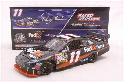Denny Hamlin #11 FedEx Express Duel 150 Win 2008 Camry