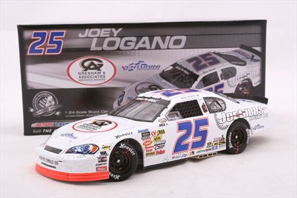Joey Logano #25 Joe Gibbs Driven Racing Oil 2008 Impala SS