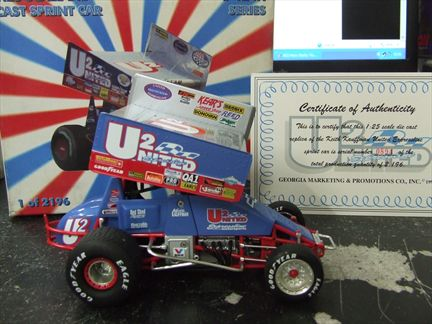 Keith Kauffman / United Expressline Sprint Car