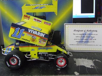 #11h Greg Hodnet/ Vivarin Sprint Car