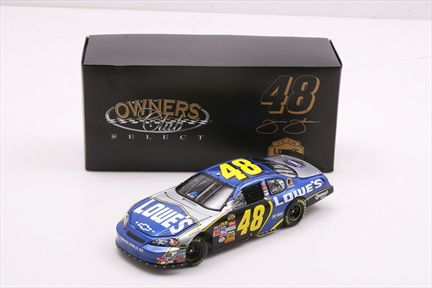 Jimmie Johnson #48 Lowe's 2007 Monte Carlo SS Owners Club Select