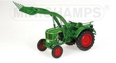 Deutz F2L 514 Farm Tractor With Front Loader