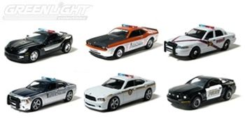 Hot Pursuit Series #2 Set (Include 6 Cars)