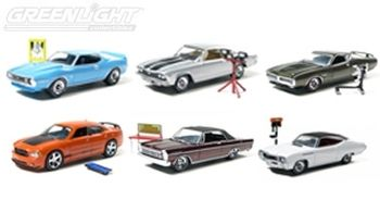 Muscle Car Garage Hobby Collection Series #4 (Include 6 Cars)
