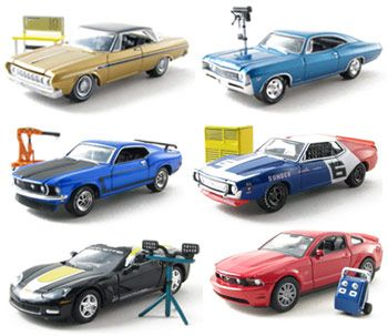 Muscle Car Garage Hobby Collection Series #5 Set (Include 6 Cars)