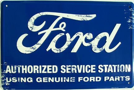 Ford Authorized Service Station