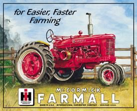 Mc Cormick Farmall