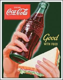 Coca-Cola Good with Food