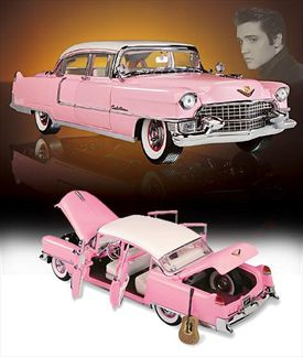 Elvis Presley's Pink Cadillac Fleetwood 1955