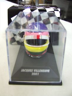 Casque Bell J. Villeneuve 2001