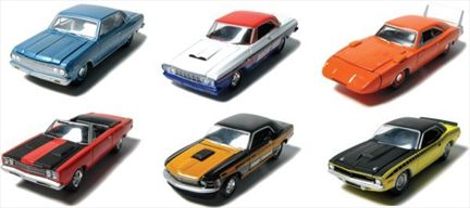 Muscle Car Garage -Street & Strip- Collection, Series 8 Complete