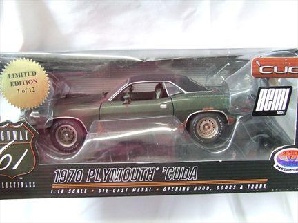 1970 Plymouth Hemi Cuda Unrestored **Limited 1 fo 12**
