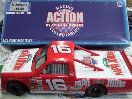 Ron Hornaday Jr. #16 Papa John's 1995 Chevrolet Racing Truck