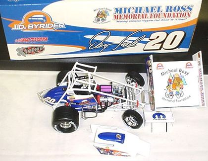 Danny Lasoski #20 J.D. Bryder / Michael Ross Memorial 2004 Sprint Car Xtreme