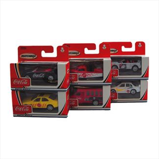 1:64 Matchbox Coke Cars