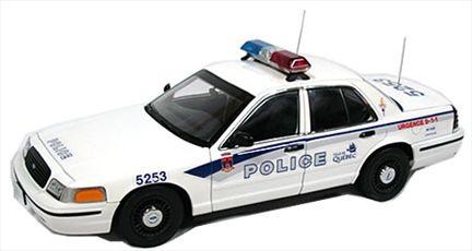 Police de Quebec Ford Crown Victoria