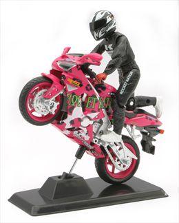 Kawasaki Ninja KX-6RR Avec Figurine Kane Friesen