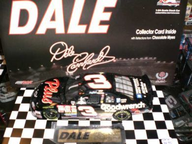 Dale The Movie Dale Earnhardt #3 Goodwrench 1998 Monte Carlo Car 12 in a Series of 12