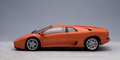 Lamborghini Diablo Orange Paint Code
