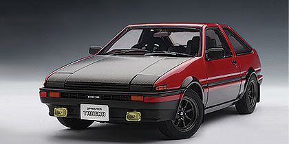 Toyota Sprinter Trueno (AE86) Special Tuned Version