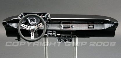 Chevrolet Hot Rod Dash 1957